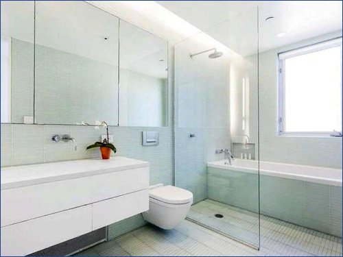 Перегородки в ванную комнату